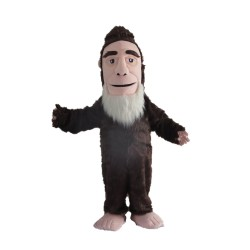 Adult Size Plush Savage Mascot Costume