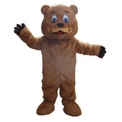 Top High Quality Brown Bear Mascot Costume