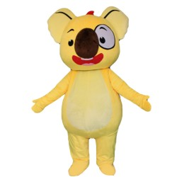 New Arrival Special Yellow Koala Mascot Costume