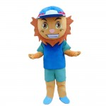 Special Style Little Blue Lion Mascot Costume