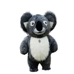 Hot Good Quality Long Fur Koala Mascot Costume