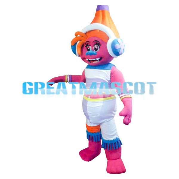 New Kind Colorful Robot With Headset Mascot Costume