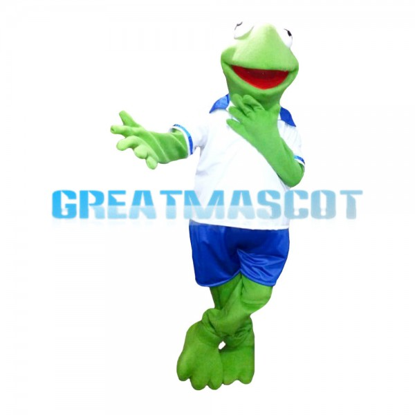 For Outdoor Party Sports Frog Mascot Costume