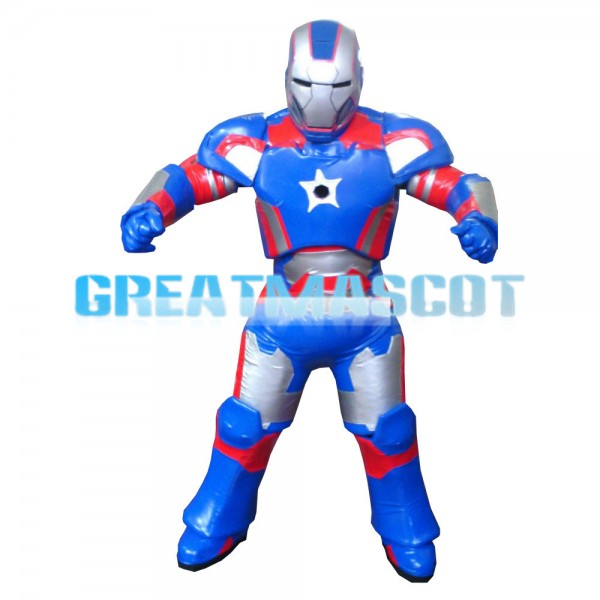 Fashion Style Powerful Steel Robot Mascot Costume
