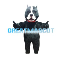 New Style Little Ugly Black Dog Mascot Costume
