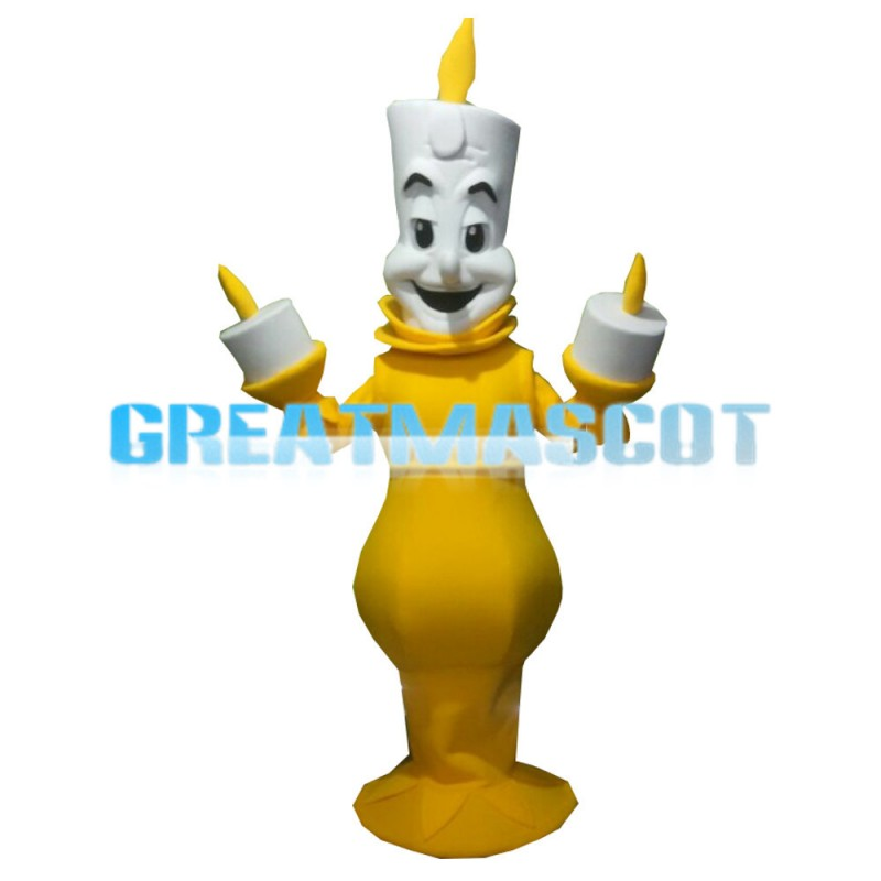 For Activity Cartoon Candle On Candlestick Mascot Costume