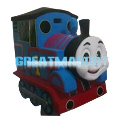 Fashion Style Driving Thomas Train Mascot Costume