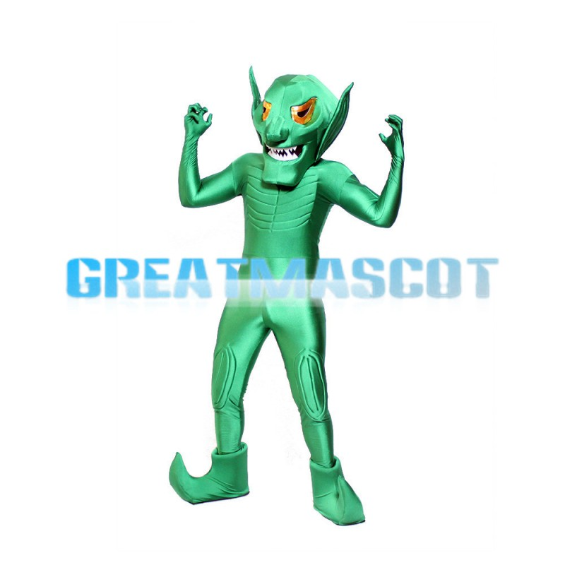 New Special Style Green Alien Mascot Costume