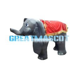 For Watching And Riding Elephant Mascot Costume