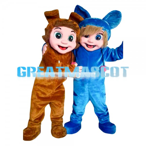 Likable Playing Little Boys Mascot Costume