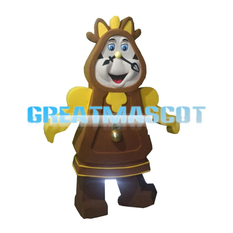 New Vintage Wall Clock Mascot Costume