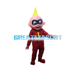 Grand Theft With Red Tights Mascot Costume