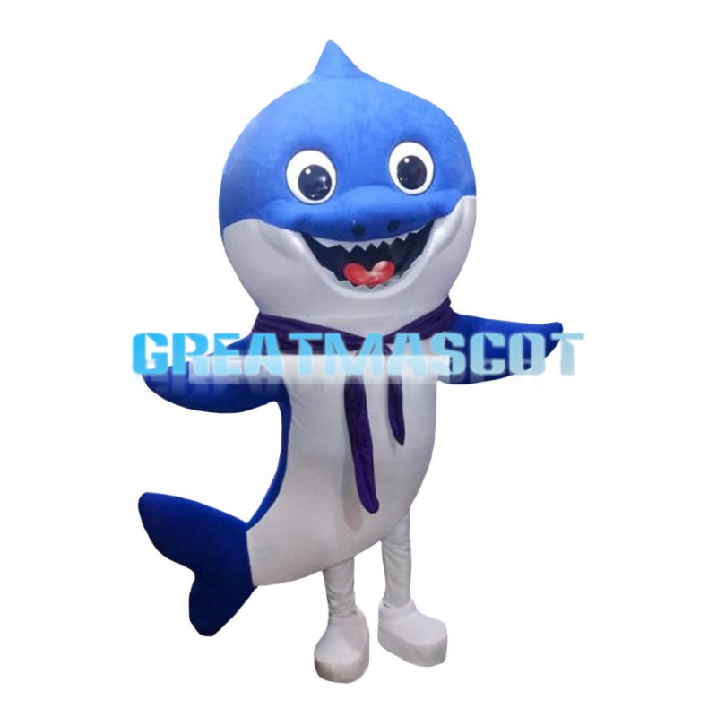 For Ocean Pavilion Display Dolphin Mascot Costume