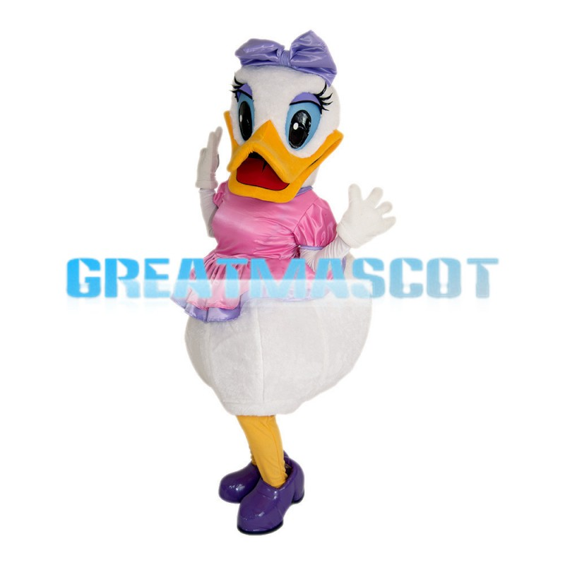 Round Body Fashion Donald Duck Mascot Costume