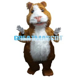 Large Soft Furry Marmot Mascot Costume