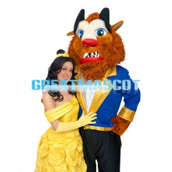 Cartoon Ugly Beast Mascot Costume