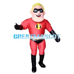 The Incredibles Superman Bob Mascot Costume