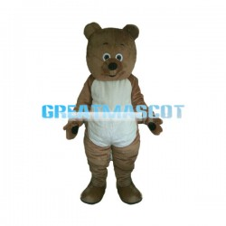 Spreading Hands Bear Mascot Costume