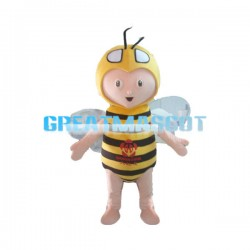 Hard Working Little Bee Mascot Costume