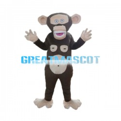 Funny Interesting Cartoon Monkey Mascot Costume