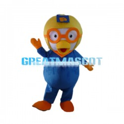 Confused Little Penguin Poluru Mascot Costume
