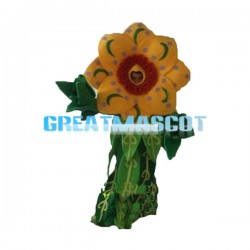Thriving Faceless Sunflower Mascot Costume