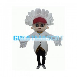 Young Tribal Leader Mascot Costume