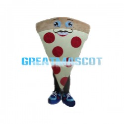 Delicious Cheese Pizza Mascot Costume