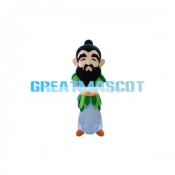 Black Beard Ancient Man Mascot Costume