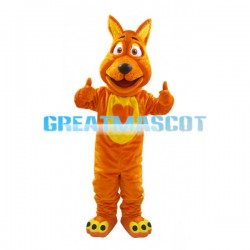Brown Loving Dog Mascot Costume