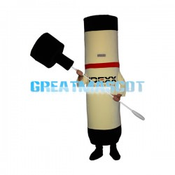 Tubular Reagent Test Kit Mascot Costume