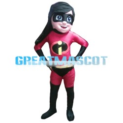 Invisible Growing Heroine Mascot Costume