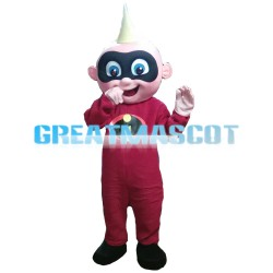 Little Superman John Jackson Parr Mascot Costume