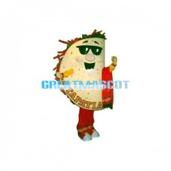 Cartoon Tacos Lightweight Mascot Costume For Halloween Party