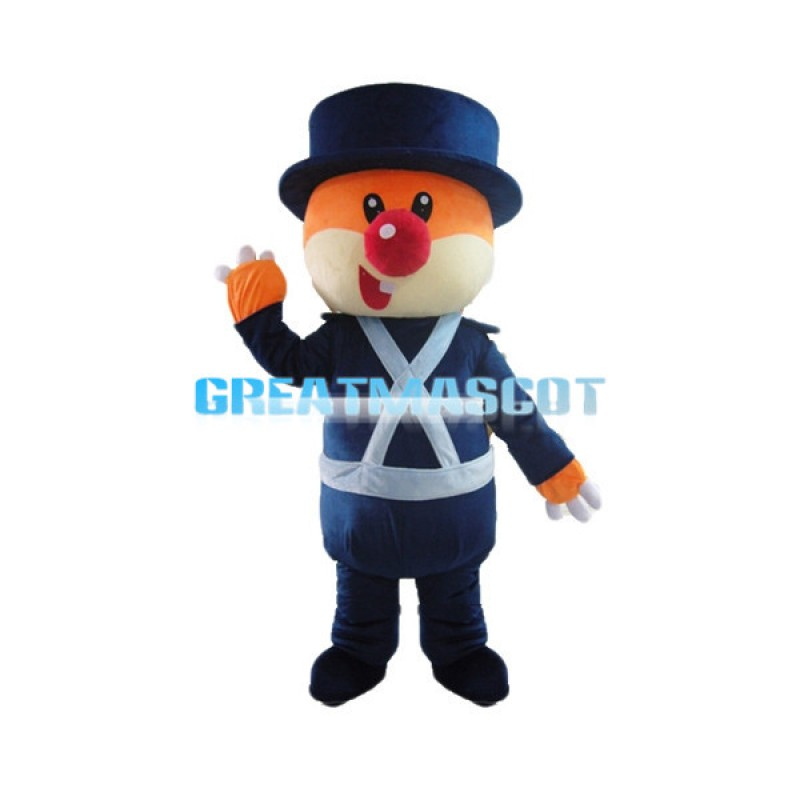 Responsible Cartoon Mole Sheriff Mascot Adult Costume
