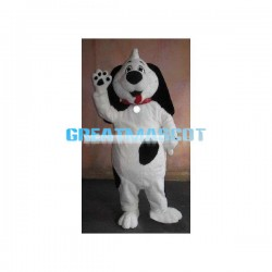 Lovely Ruff the Dog Mascot Adult Costume