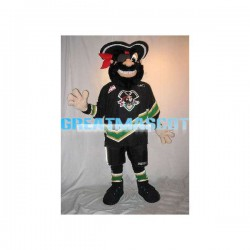 Happy Pirate Mascot Costume