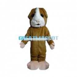 Cute Hamster Mascot Adult Costume