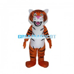 Fierce Adult Tiger Plush Lightweight Mascot Costume