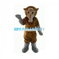 Proboscis Monkey Mascot Adult Costume