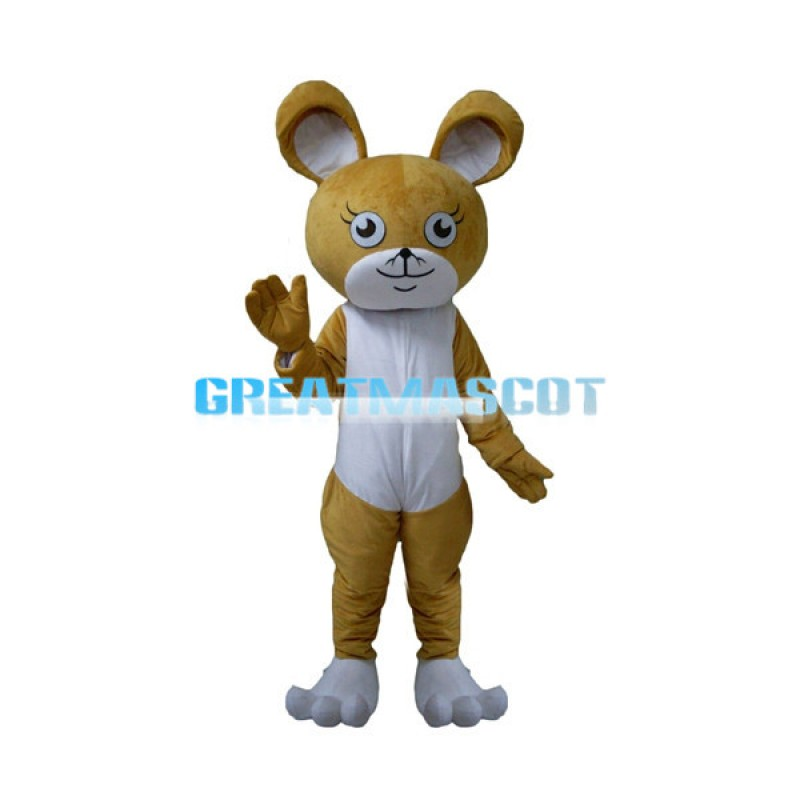 Cartoon Little Kangaroo Mascot Costume
