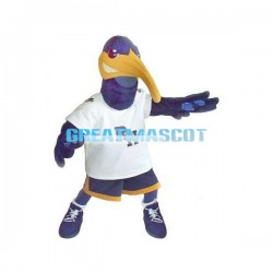 Adult Best Blue Toucan Mascot Costume Fancy Dress Outfit Suit