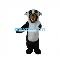 Fierce Badger Mascot Adult Costume