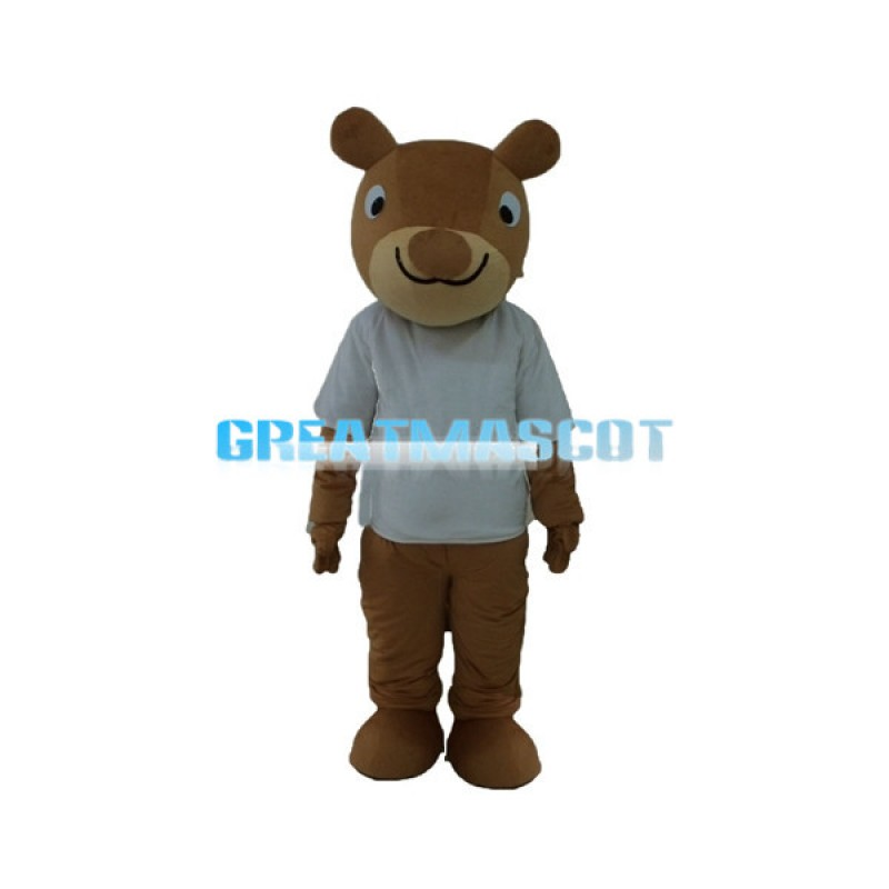 Cartoon Kangaroo Mascot Adult Costume