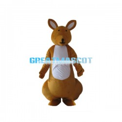Cute Kangaroo Lightweight Mascot Costume Animal Fancy Dress Costume Adult Size
