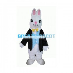 Cute Rabbit Mascot Costume Animal Cartoon Fancy Dress Outfit Suit Adult Size