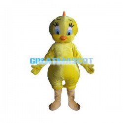 Innocent Tweety Bird Mascot Adult Costume
