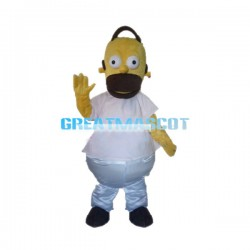 Lazy Homer Simpson Mascot Costume