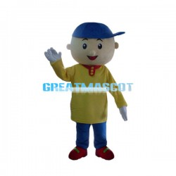 Curious Boy Caillou Mascot Costume