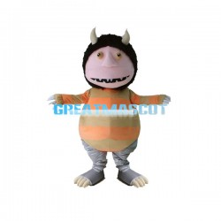 Adult Size Cartoon Monster Mascot Costume